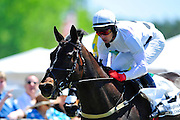 April 7, 2012 - Nadal and Brian Crowley win the Pond House Training Flat at Stoneybrook Steeplechase, Raeford NC