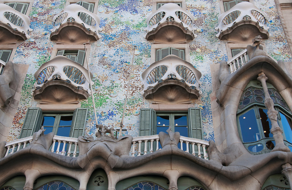 One of Gaudi's famous buildings.