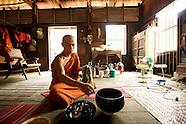 Road to Nirvana. Becoming a Buddhist monk. Burma, 2012.