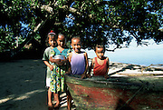 Walung Village, Kosrae, Federated States of Micronesia, Micronesia, (editorial use only- no model release)<br />