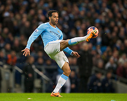 15.02.2014, Etihad Stadion, Manchester, ESP, FA Cup, Manchester City vs FC Chelsea, Achtelfinale, im Bild Manchester City's Joleon Lescott, action against Chelsea // during the English FA Cup Round of last 16 Match between Manchester City and FC Chelsea at the Etihad Stadion in Manchester, Great Britain on 2014/02/15. EXPA Pictures © 2014, PhotoCredit: EXPA/ Propagandaphoto/ David Rawcliffe<br /> <br /> *****ATTENTION - OUT of ENG, GBR*****