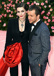"""Bee Shaffer Carrizzini and Francesco Carrozzini at the 2019 Costume Institute Benefit Gala celebrating the opening of """"Camp: Notes on Fashion"""".<br />(The Metropolitan Museum of Art, NYC)"""