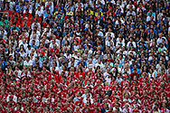Fans Denmark and France during the 2018 FIFA World Cup Russia, Group C football match between Denmark and France on June 26, 2018 at Luzhniki Stadium in Moscow, Russia - Photo Thiago Bernardes / FramePhoto / ProSportsImages / DPPI