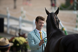 Burton Christopher, AUS, Santano II<br /> Final Horse inspection Eventing<br /> Olympic Games Rio 2016<br /> © Hippo Foto - Dirk Caremans<br /> 09/08/16