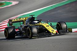 February 28, 2019 - Barcelona, Catalonia, Spain - the Renault of Daniel Ricciardo during the Formula 1 test in Barcelona, on 28th February 2019, in Barcelona, Spain. (Credit Image: © Joan Valls/NurPhoto via ZUMA Press)
