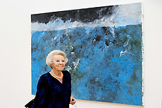 Princess Beatrix gets a tour of the Voorlinden Museum - 03 Nov 2018