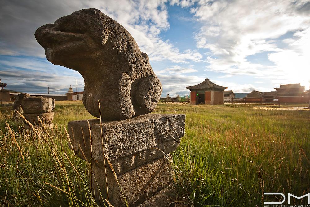 Erdene Zuu Monastery in Mongolia