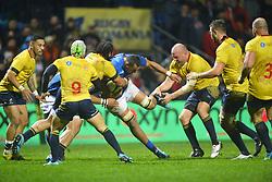 November 18, 2017 - Bucharest, Romania - Samoa's Piula Faasalele in action during International Friendly  Rugby match at National Stadium ''Arcul de Triumf'', on November 18th 2017, in Bucharest, Romania. (Credit Image: © Alex Nicodim/NurPhoto via ZUMA Press)