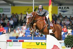 Sato Eiken (JPN) - BV Projects Cartoon Z<br /> Sires of the World<br /> World Championship Young Horses Lanaken 2009<br /> © Hippo Foto - Dirk Caremans
