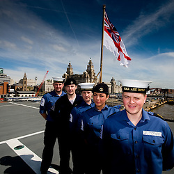 Amongst the crew on Ark Royal are some local Scousers.  Some from.Wirral, others from Liverpool.  For one it was his first time back in.Liverpool since 2001.  He said its changed quite a bit.  ??Pictured here are Leading Airman James Jones (Bootle), Engineer James Huges (Kirby), Michael Lucas, Paul Ranson, Hayley Shakeshaft and Seaman Elizabeth Dawson (Norris Green).