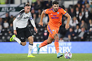 Cardiff City defender Callum Paterson on the ball during the EFL Sky Bet Championship match between Derby County and Cardiff City at the Pride Park, Derby, England on 13 September 2019.
