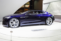 11 February 2016:  Buick Avista - Concept.<br /> <br /> First staged in 1901, the Chicago Auto Show is the largest auto show in North America and has been held more times than any other auto exposition on the continent.  It has been  presented by the Chicago Automobile Trade Association (CATA) since 1935.  It is held at McCormick Place, Chicago Illinois<br /> #CAS16