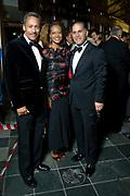 Congressman Mel Watt and his wife, Eulada, with Maestro James Meena at Opera Carolina's annual Bella Notte fundraising gala Saturday, Oct. 20, 2012, in Charlotte, NC. Photo by Wendy Yang Photography