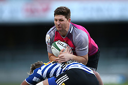 Hoffman Maritz of the Pumas is tackled by Robert du Preez of Western Province during the Currie Cup Premier Division match between the DHL Western Province and the Pumas held at the DHL Newlands rugby stadium in Cape Town, South Africa on the 17th September  2016<br /> <br /> Photo by: Shaun Roy / RealTime Images
