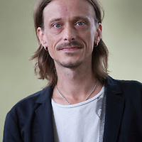 Mackenzie Crook at Edinburgh International Book Festival 2014<br /> 9th August 2014<br /> <br /> Picture by Russell G Sneddon/Writer Pictures<br /> <br /> WORLD RIGHTS