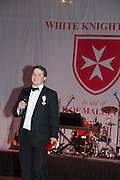 JAMES GREW CHAIRMAN OF THE BALL, THE 35TH WHITE KNIGHTS BALLIN AID OF THE ORDER OF MALTA VOLUNTEERS' WORK WITH ADULTS AND CHILDREN WITH DISABILITIES AND ILLNESS. The Great Room, Grosvenor House Hotel, Park Lane W1. 11 January 2014
