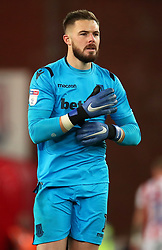 Stoke City goalkeeper Jack Butland after the final whistle