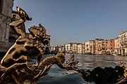 Venice, on the Gondola on the Canal Grande
