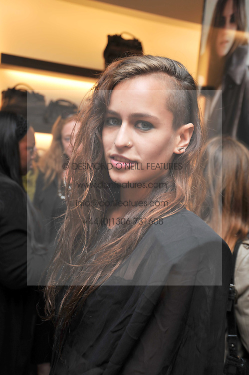 ALICE DELLAL at a reception hosted by Vogue and Burberry to celebrate the launch of Fashions Night Out - held at Burberry, 21-23 Bond Street, London on 10th September 2009.