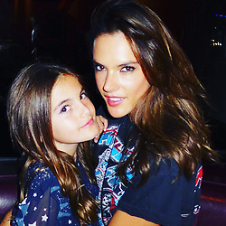 """Alessandra Ambrosio releases a photo on Instagram with the following caption: """"\ud83c\udf1f\ud83e\udd84\ud83c\udf1f at daddy's bday party !!! \ud83d\udcf8 by @stewartshining"""". Photo Credit: Instagram *** No USA Distribution *** For Editorial Use Only *** Not to be Published in Books or Photo Books ***  Please note: Fees charged by the agency are for the agency's services only, and do not, nor are they intended to, convey to the user any ownership of Copyright or License in the material. The agency does not claim any ownership including but not limited to Copyright or License in the attached material. By publishing this material you expressly agree to indemnify and to hold the agency and its directors, shareholders and employees harmless from any loss, claims, damages, demands, expenses (including legal fees), or any causes of action or allegation against the agency arising out of or connected in any way with publication of the material."""