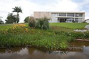 Belo Horizonte_MG, 18 de Novembro de 2010...Jornal Estado de Minas / Pampulha..Imagens do  Museu de Arte da Pampulha integrante do Conjunto Arquitetonico da Pampulha ? uma das obras de  Oscar Niemeyer...Foto: JOAO MARCOS ROSA / NITRO