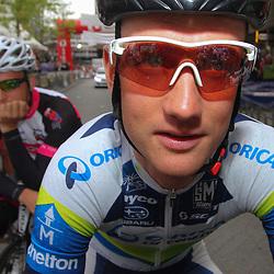 Sportfoto archief 2013<br /> Pieter Weening met in zijn schaduw broer Andries