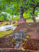 Paul Gauguin Gravesite, Atuona, Hiva Oa, Marquesas, French Polynesia, South Pacific