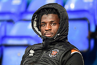 Blackpool's Rocky Bushiri<br /> <br /> Photographer Chris Vaughan/CameraSport<br /> <br /> The EFL Sky Bet League One - Ipswich Town v Blackpool - Saturday 23rd November 2019 - Portman Road - Ipswich<br /> <br /> World Copyright © 2019 CameraSport. All rights reserved. 43 Linden Ave. Countesthorpe. Leicester. England. LE8 5PG - Tel: +44 (0) 116 277 4147 - admin@camerasport.com - www.camerasport.com