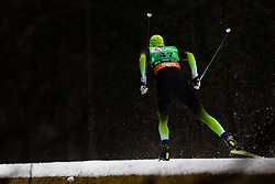 Janez Lampic (SLO) during the Ladies sprint free race at FIS Cross Country World Cup Planica 2019, on December 21, 2019 at Planica, Slovenia. Photo By Grega Valancic / Sportida