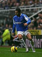 Photo: Andrew Unwin.<br />Newcastle Utd v Birmingham City. The Barclays Premiership. 05/11/2005.<br />Birmingham's Jermaine Pennant.