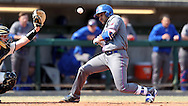 CARY, NC - MARCH 04: UMass Lowell's Oscar Marchena ducks out of the way of an inside pitch. The University of Massachusetts Lowell River Hawks played the University of Notre Dame Fighting Irish on March 4, 2017, at USA Baseball NTC Stadium Field in Cary, NC in a Division I College Baseball game, and part of the Irish Classic tournament. UMass Lowell won the game 8-0.
