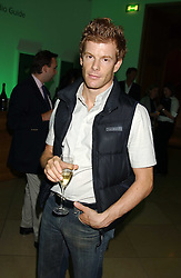 Chef TOM AIKENS at a dinner hosted by Dom Perignon champagne to celebrate the launch of a new cook book held at the National Portrait Gallery, London on 15th September 2005.<br /><br />NON EXCLUSIVE - WORLD RIGHTS