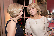 JANE THYNNE, ANNE SEBBA, Literary Review  40th anniversary party and Bad Sex Awards,  In & Out Club, 4 St James's Square. London. 2 December 2019