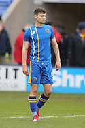 5 Matt Sadler for Shrewsbury Town during the The FA Cup 3rd round match between Shrewsbury Town and Stoke City at Greenhous Meadow, Shrewsbury, England on 5 January 2019.