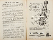 All Ireland Senior Hurling Championship Final,.Programme,.05.09.1954, 09.05.1954, 5th September 1954,.Cork 1-9, Wexford 1-6,.Minor Dublin v Tipperary, .Senior Cork v Wexford,.Croke Park,..Advertisements, Club Orange Mineral Waters Distributors Ltd,