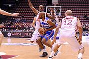 DESCRIZIONE : Milano Final Eight Coppa Italia 2014 Quarti di Finale Enel Brindisi - Umana Reyer Venezia<br /> GIOCATORE : Michael Snaer<br /> CATEGORIA : Penetrazione<br /> SQUADRA : Enel Brindisi<br /> EVENTO : Final Eight Coppa Italia 2014 Milano<br /> GARA : Enel Brindisi - Umana Reyer Venezia<br /> DATA : 07/02/2014<br /> SPORT : Pallacanestro <br /> AUTORE : Agenzia Ciamillo-Castoria /M.Marchi<br /> Galleria : Final Eight Coppa Italia 2014 Milano<br /> Fotonotizia : Milano Final Eight Coppa Italia 2014 Quarti di Finale Enel Brindisi - Umana Reyer Venezia<br /> Predefinita :
