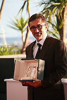 Nuri Bilge Ceylan, Palme d'Or winner for the film Winter Sleep at the Palme d'Or winners photo call at the 67th Cannes Film Festival, Saturday 24th May 2014, Cannes, France.