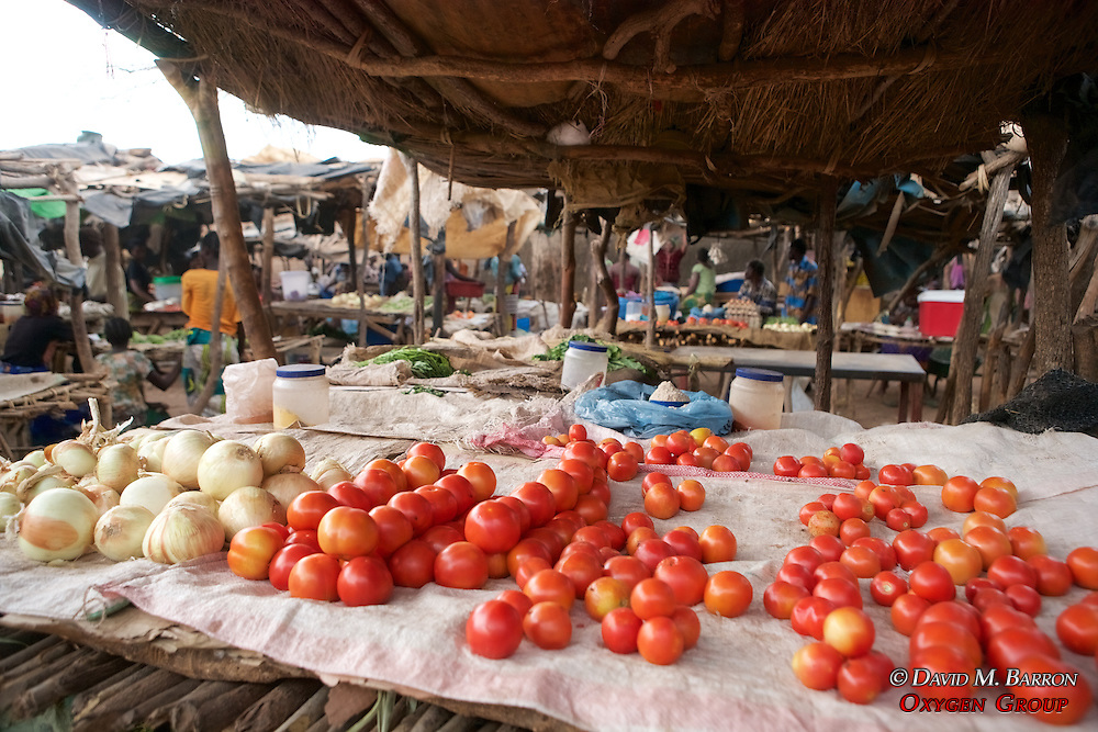 Tomatoes In Market