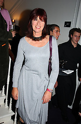JANET STREET-PORTER at a party hosted by jeweller Theo Fennell and Dominique Heriard Dubreuil of Remy Martin fine Champagne Cognac entitles 'Hot Ice' held at 35 Belgrave Square, London, W1 on 26th October 2004.<br /><br />NON EXCLUSIVE - WORLD RIGHTS