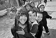 Elvira Elementary School in Tucson, Arizona, USA, on February 14th, 2012, the date of the 100th birthday of the state of Arizona.