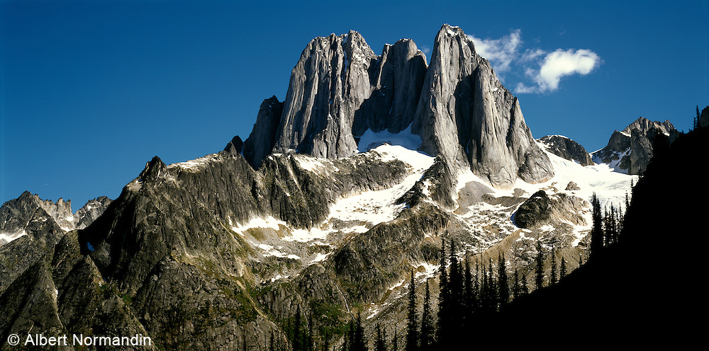 Peaks in the Bugaboo Provincial Park and Purcell Mountains