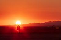 Lone Burner and Deep Playa Sunrise