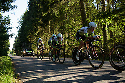 Lares Waowdeals at the Crescent Vargarda - a 42.5 km team time trial, starting and finishing in Vargarda on August 11, 2017, in Vastra Gotaland, Sweden. (Photo by Sean Robinson/Velofocus.com)