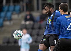 Abdel Diarra (HB Køge) under træningskampen mellem FC Helsingør og HB Køge den 22. februar 2020 på Helsingør Ny Stadion (Foto: Claus Birch).
