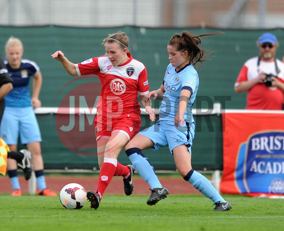 - Photo mandatory by-line: Dougie Allward/JMP - Mobile: 07966 386802 - 28/09/2014 - SPORT - Women's Football - Bristol - SGS Wise Campus - Bristol Academy Women's v Manchester City Women's - Women's Super League