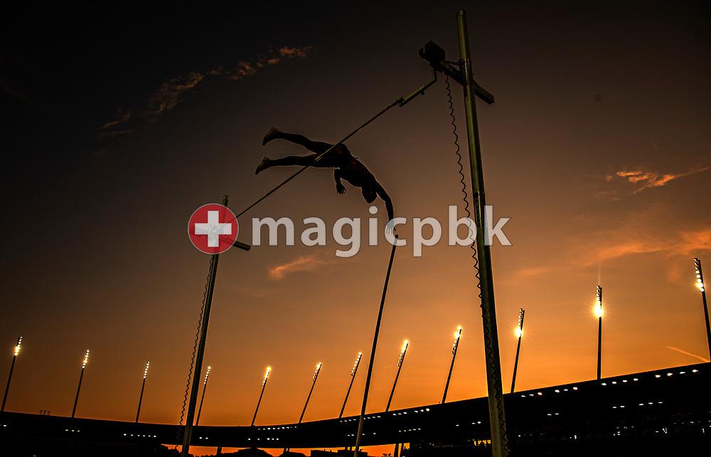 Thiago BRAZ of Brazil competes in the Men's Pole Vault during the Iaaf Diamond League meeting (Weltklasse Zuerich) at the Letzigrund Stadium in Zurich, Switzerland, Thursday, Aug. 29, 2019. (Photo by Patrick B. Kraemer / MAGICPBK)