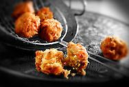 Onion Bhaji Indian snack