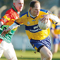 4 February 2007; <br />  Allianz NFL, Division 2A, Carlow v Clare, Dr. Cullen Park, Carlow. Picture credit: Matt Browne / SPORTSFILE
