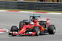 VETTEL sebastian (ger) ferrari sf15t action during 2015 Formula 1 FIA world championship, Malaysia Grand Prix, at Sepang from March 27th to 30th. Photo Francois Flamand / DPPI