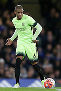Fernando of Manchester City in action. The Emirates FA Cup, 5th round match, Chelsea v Manchester city at Stamford Bridge in London on Sunday 21st Feb 2016.<br /> pic by John Patrick Fletcher, Andrew Orchard sports photography.